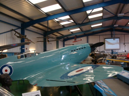 80th anniversary of the first flight of the prototype Spitfire